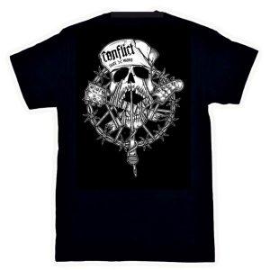 Camiseta-Conflict-Skate-Rock