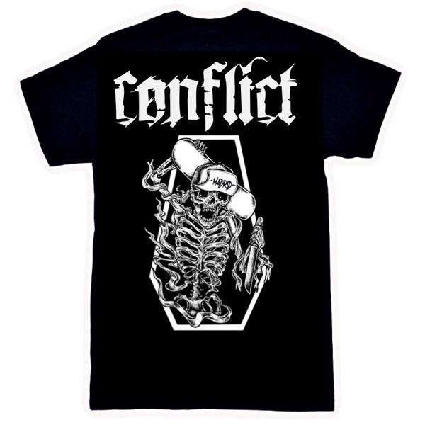 Camiseta-Conflict-Skeleton