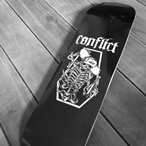Tabla Skate Conflict